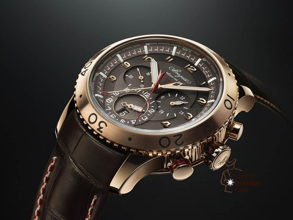 www.watch insider.com | news  | This is a brief outlook for the Baselworld 2013. I invite you to discover my first Basel preview. | Breguet Pre Basel Type XXII 3880BR Z2 9XV pr 1024x769