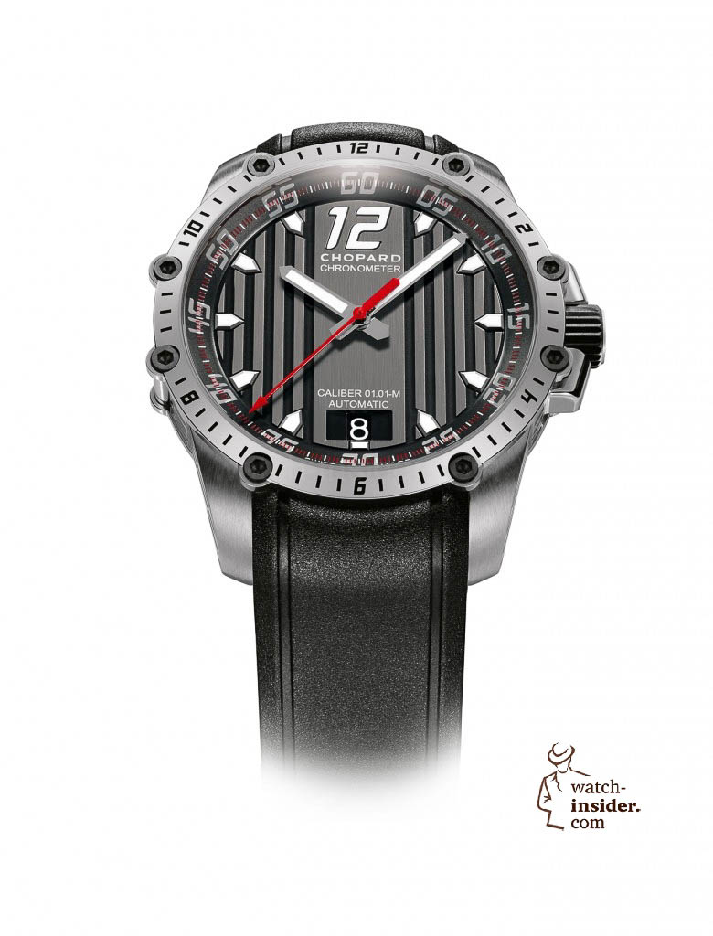 www.watch insider.com | news  | This is a brief outlook for the Baselworld 2013. I invite you to discover my first Basel preview. | Chopard Superfast Automatic steel 780x1024