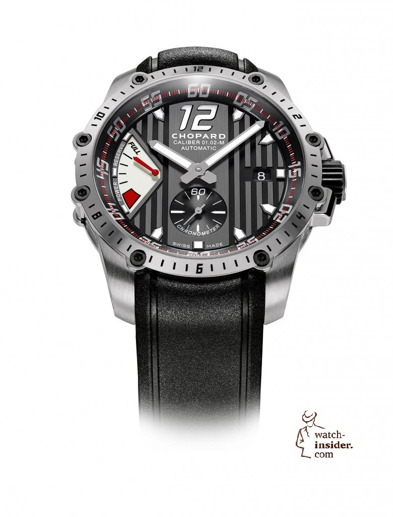 www.watch insider.com | news  | This is a brief outlook for the Baselworld 2013. I invite you to discover my first Basel preview. | Chopard Superfast Power Control steel 780x1024