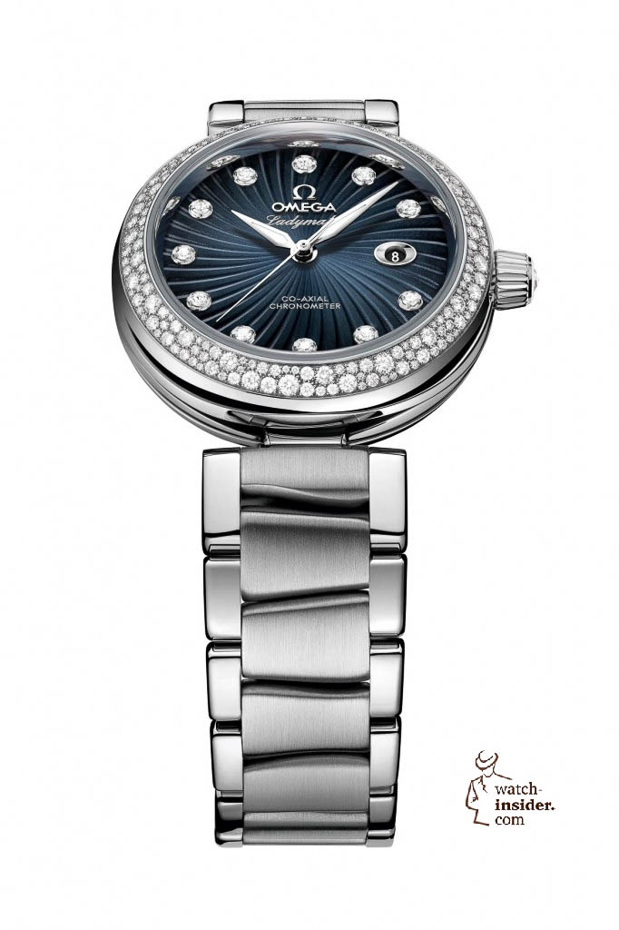 www.watch insider.com | news  | This is a brief outlook for the Baselworld 2013. I invite you to discover my first Basel preview. | Omega Ladymatic grey 425.35.34.20.56.001 frei red 682x1024