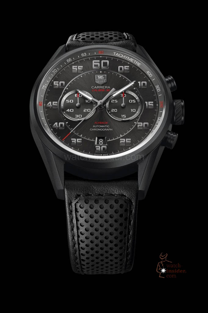 The new TAG Heuer Carrera Calibre 36 Chronograph Flyback