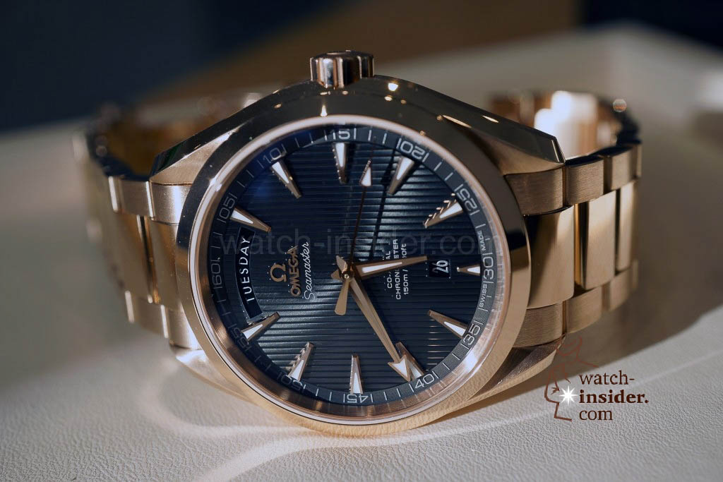 www.watch insider.com | news featured  | The Omega novelties presented at Baselworld 2013 | DSC02135 1024x683