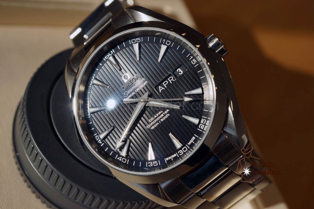 www.watch insider.com | news featured  | The Omega novelties presented at Baselworld 2013 | DSC02147 1024x683