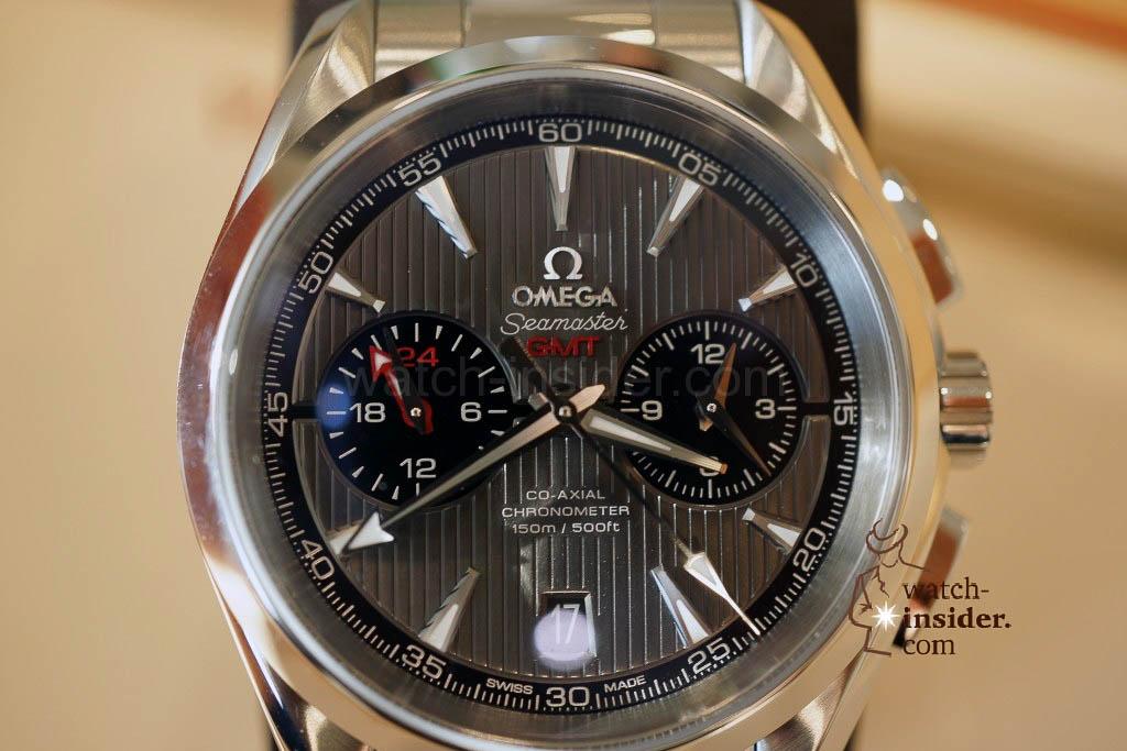 Omega Seamaster Aqua Terra Chronograph GMT
