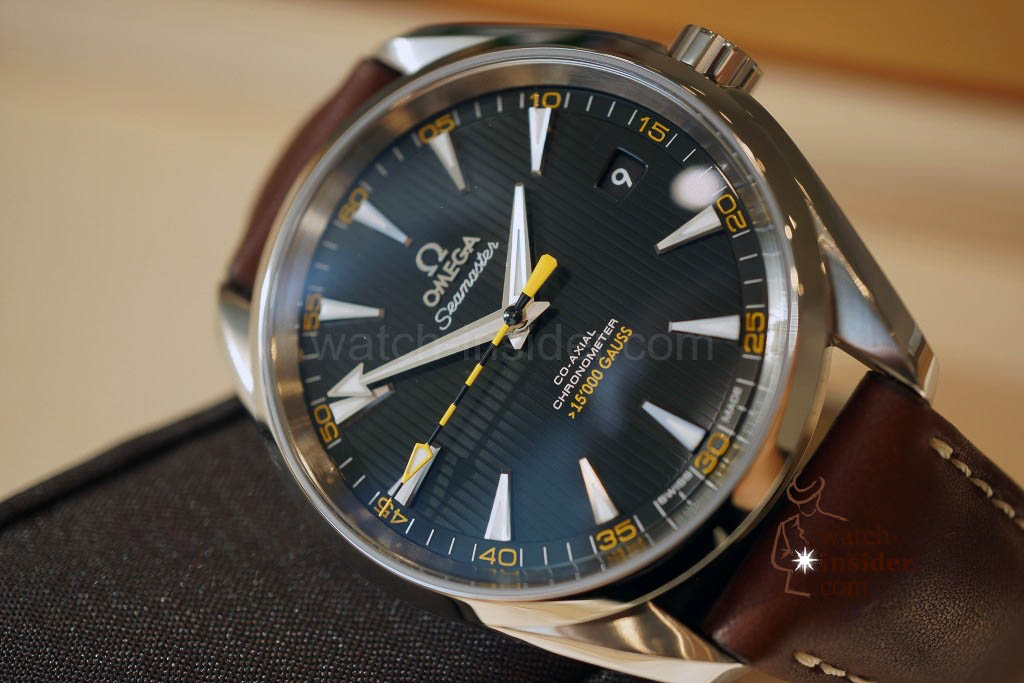 www.watch insider.com | news featured  | The Omega novelties presented at Baselworld 2013 | DSC02170 1024x683
