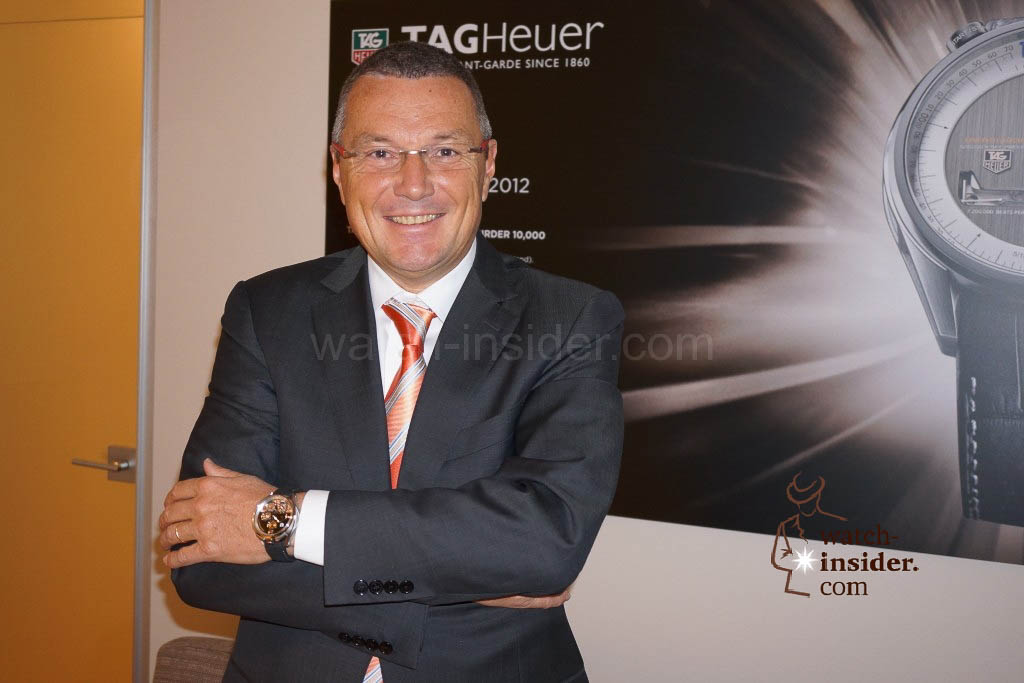 www.watch insider.com | news interviews  | Baselworld 2013 ... I talked to Jean Christophe Babin, CEO TAG Heuer and I saw the novelties  | DSC03078 1024x683