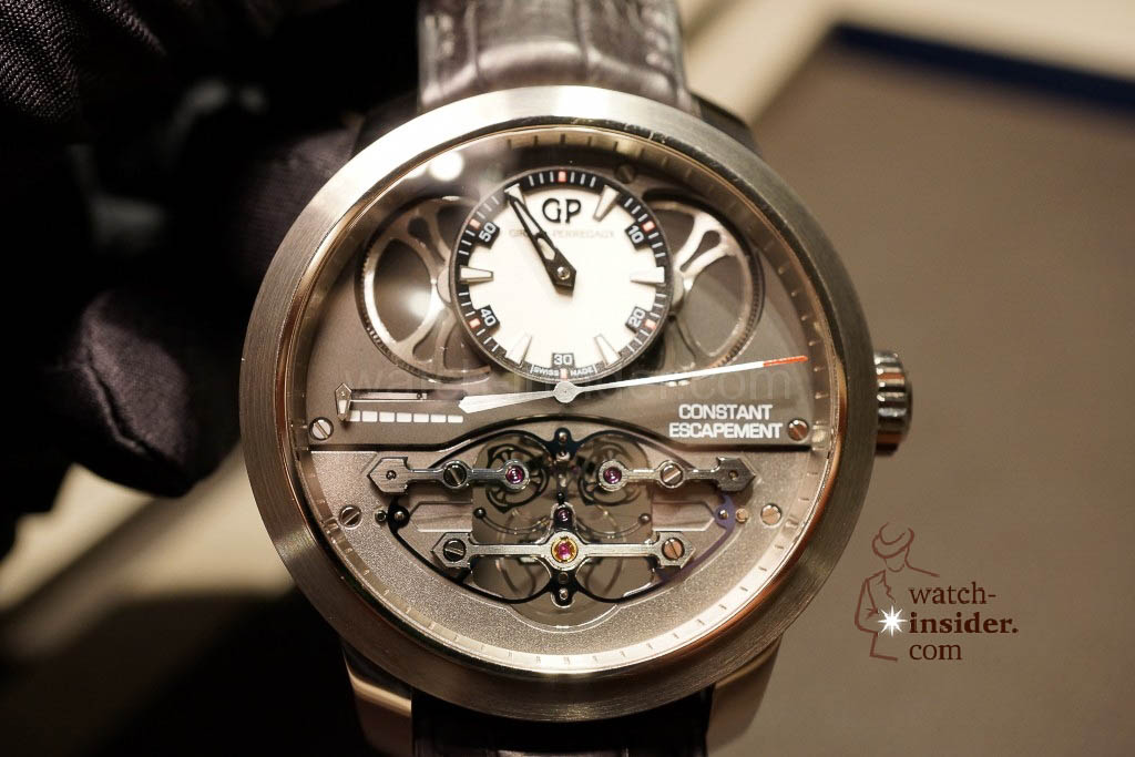 www.watch insider.com | reportages news  | Baselworld 2013 ... The Girard Perregaux novelties | DSC03112 1024x683