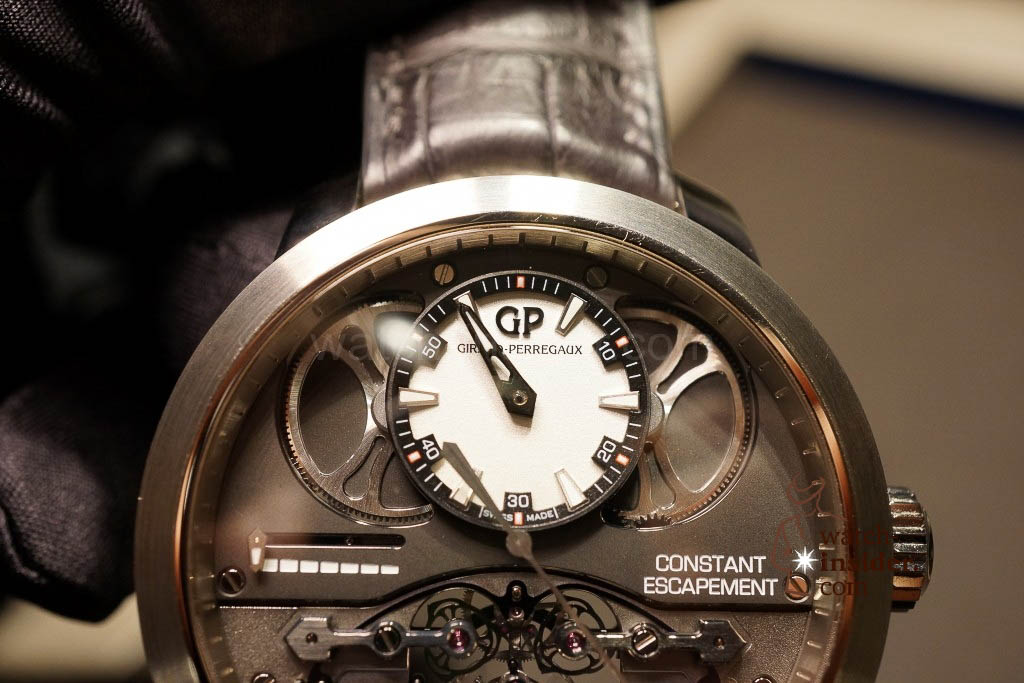www.watch insider.com | reportages news  | Baselworld 2013 ... The Girard Perregaux novelties | DSC03113 1024x683
