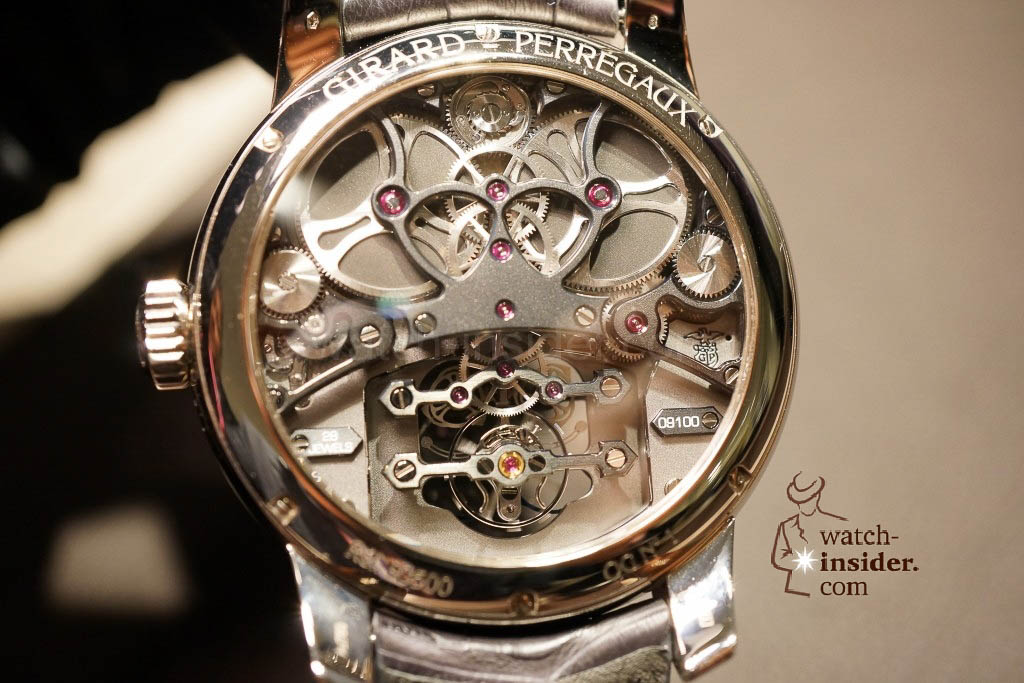 www.watch insider.com | reportages news  | Baselworld 2013 ... The Girard Perregaux novelties | DSC03117 1024x683