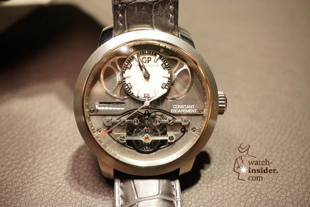 www.watch insider.com | reportages news  | Baselworld 2013 ... The Girard Perregaux novelties | DSC03118 1024x683