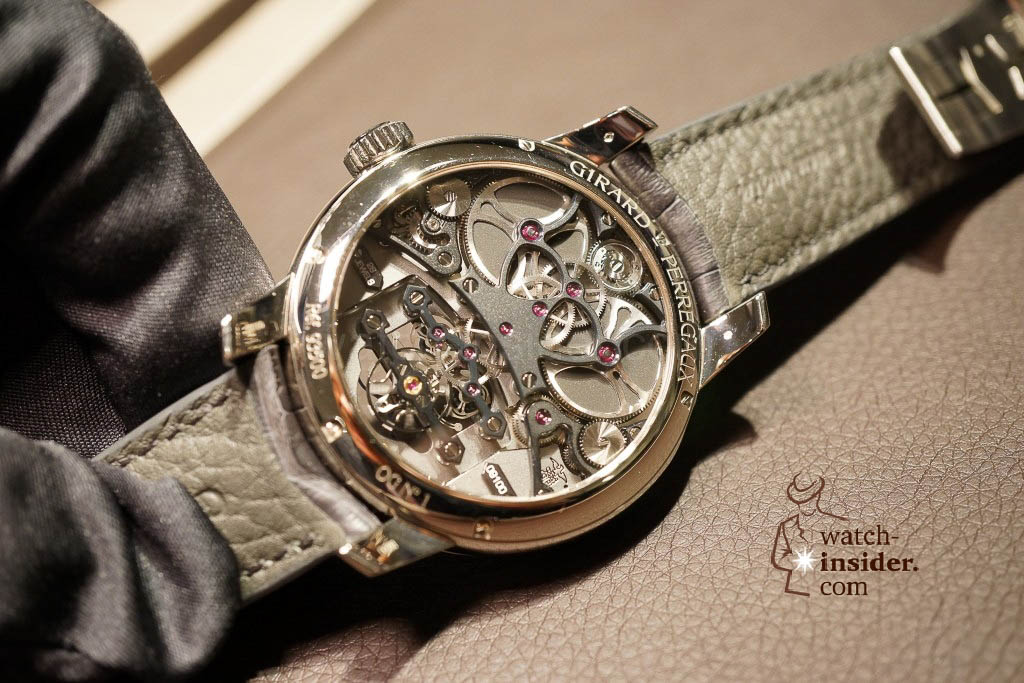 www.watch insider.com | reportages news  | Baselworld 2013 ... The Girard Perregaux novelties | DSC03119 1024x683