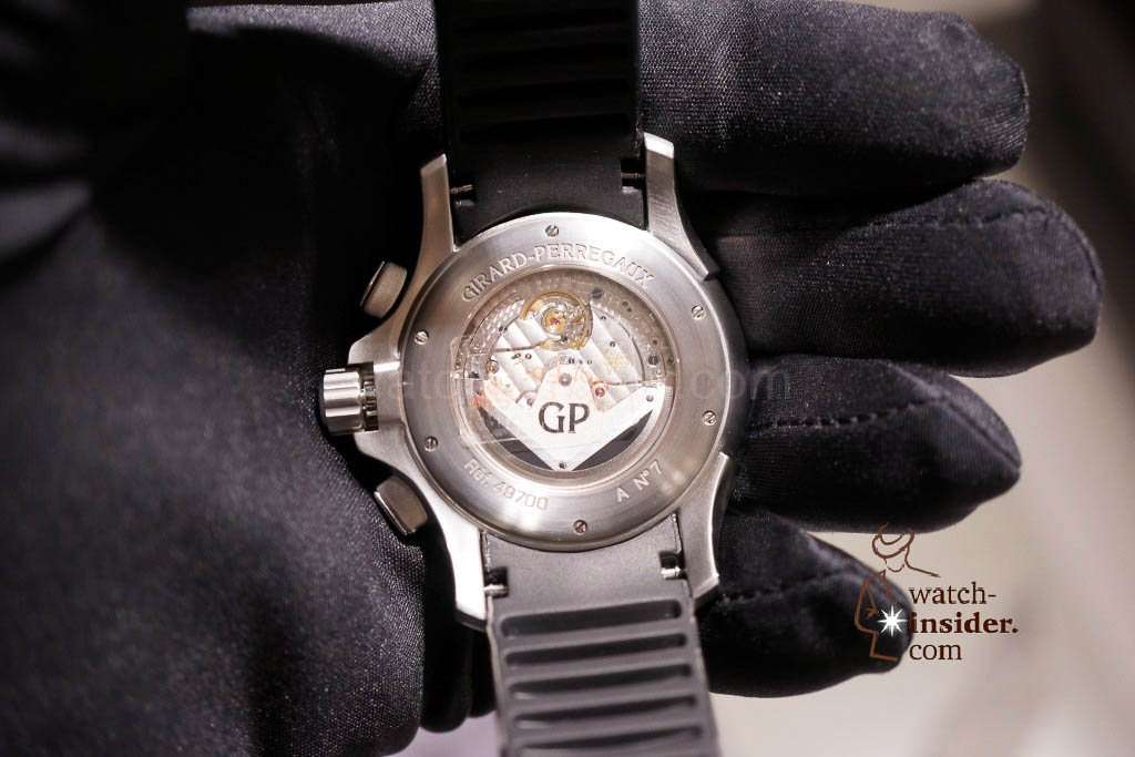 www.watch insider.com | reportages news  | Baselworld 2013 ... The Girard Perregaux novelties | DSC03268 1024x683