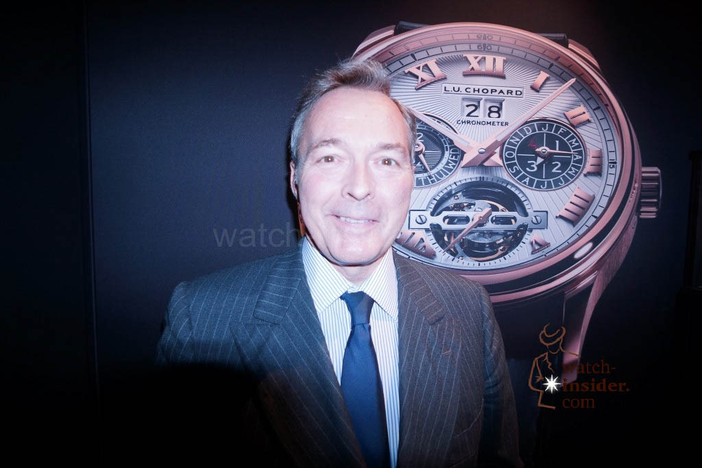 www.watch insider.com | reportages news interviews  | Baselworld 2013 ... Interview with Karl Friedrich Scheufele, the Co President of Chopard | DSC03455 1024x683
