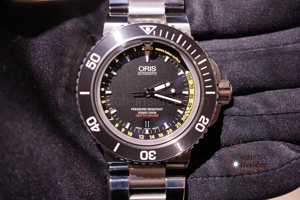 www.watch insider.com | news  | Baselworld 2013 ... The Oris novelties | DSC03504 1024x683