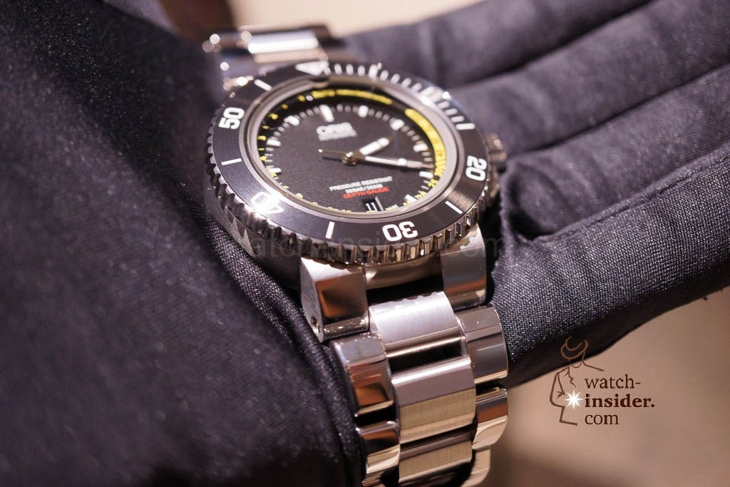 www.watch insider.com | news  | Baselworld 2013 ... The Oris novelties | DSC03507 1024x683