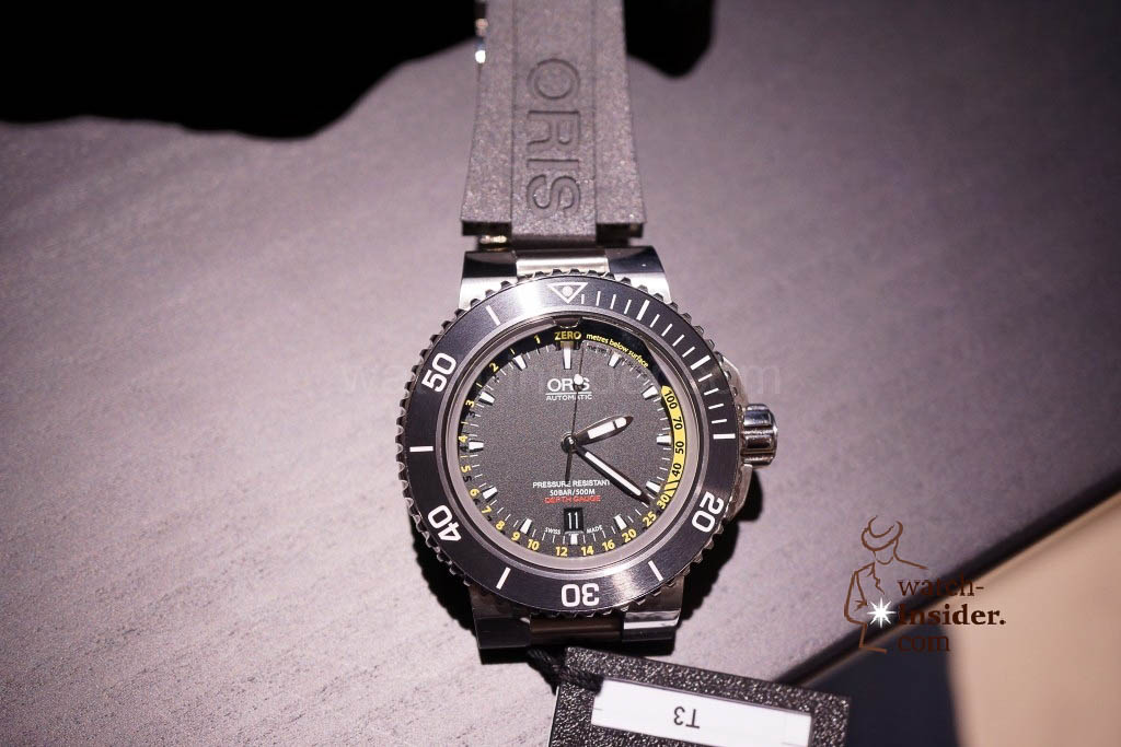 www.watch insider.com | news  | Baselworld 2013 ... The Oris novelties | DSC03513 1024x683