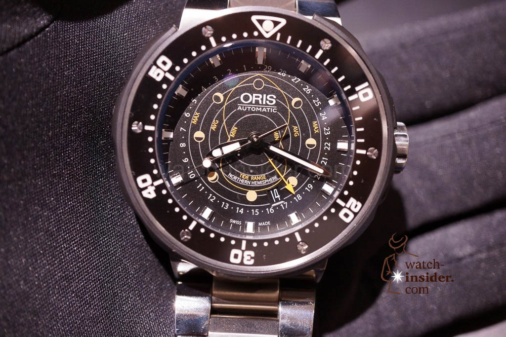 www.watch insider.com | news  | Baselworld 2013 ... The Oris novelties | DSC03521 1024x683