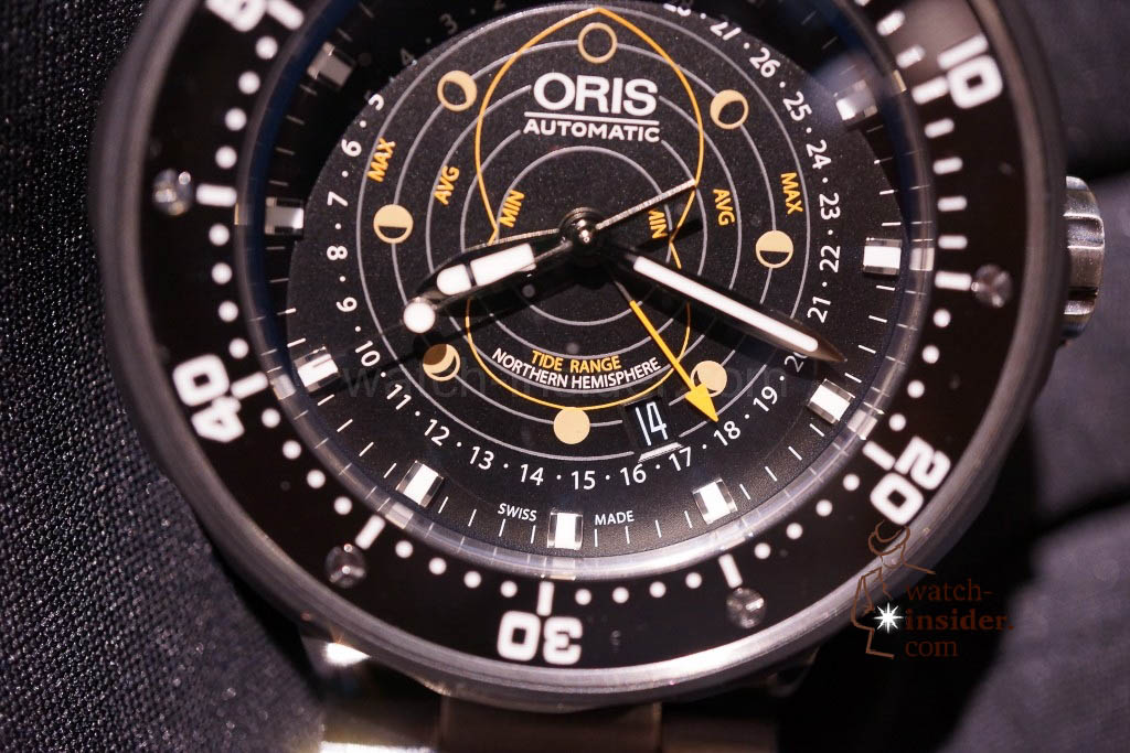 www.watch insider.com | news  | Baselworld 2013 ... The Oris novelties | DSC03522 1024x683