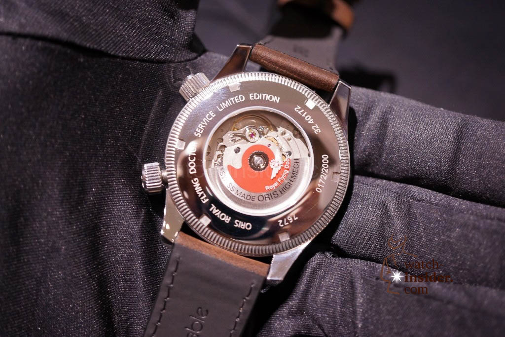www.watch insider.com | news  | Baselworld 2013 ... The Oris novelties | DSC03529 1024x683