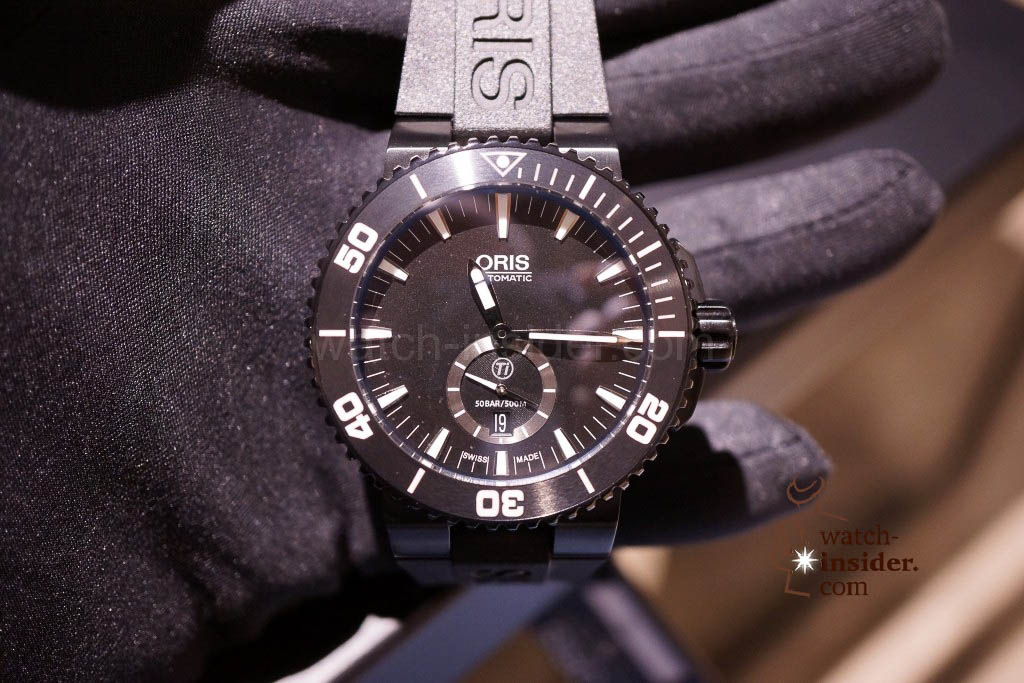 www.watch insider.com | news  | Baselworld 2013 ... The Oris novelties | DSC03530 1024x683