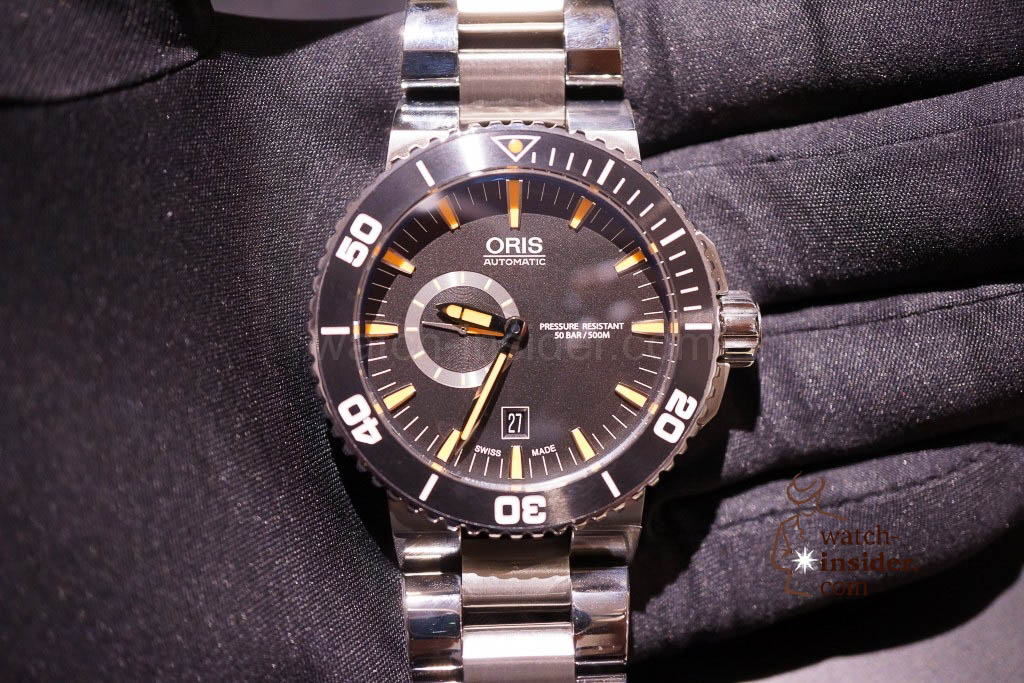 www.watch insider.com | news  | Baselworld 2013 ... The Oris novelties | DSC03533 1024x683