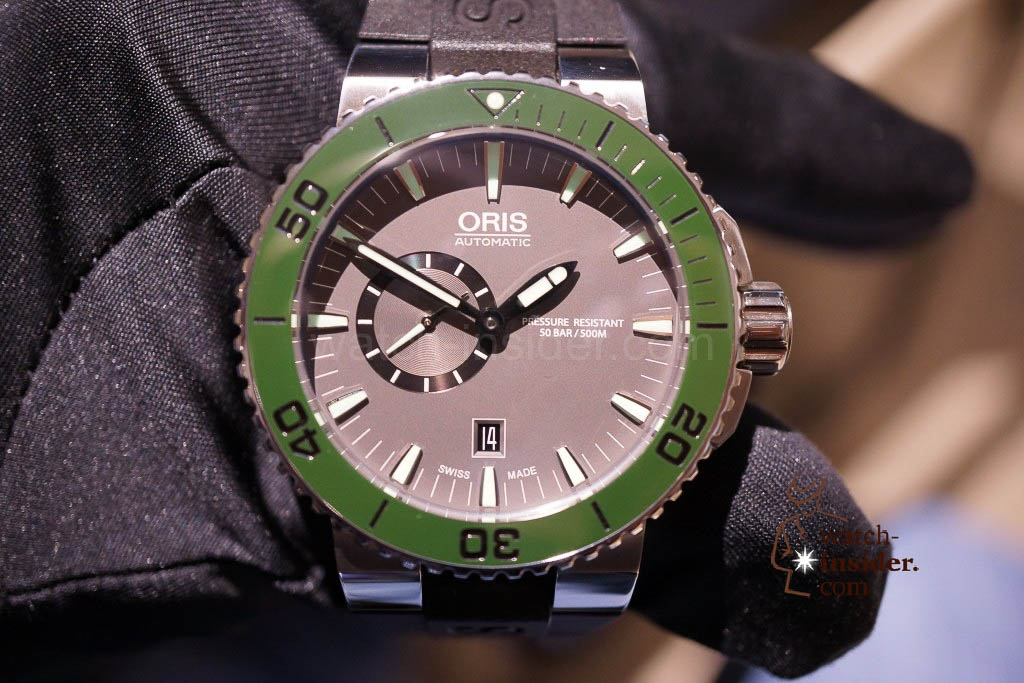 www.watch insider.com | news  | Baselworld 2013 ... The Oris novelties | DSC03535 1024x683