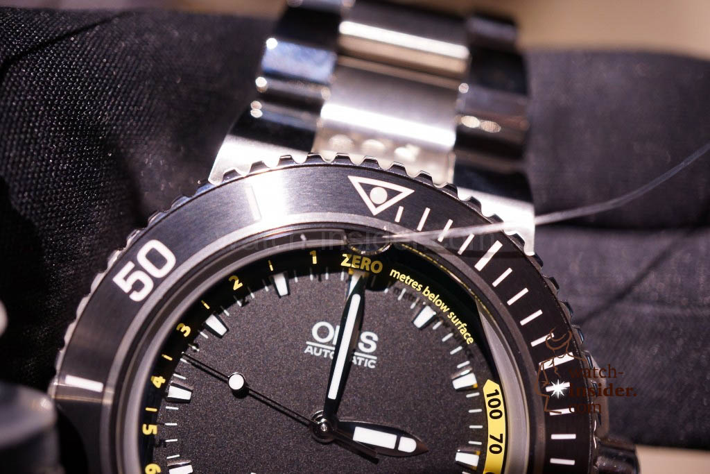 www.watch insider.com | news  | Baselworld 2013 ... The Oris novelties | DSC03544 1024x683