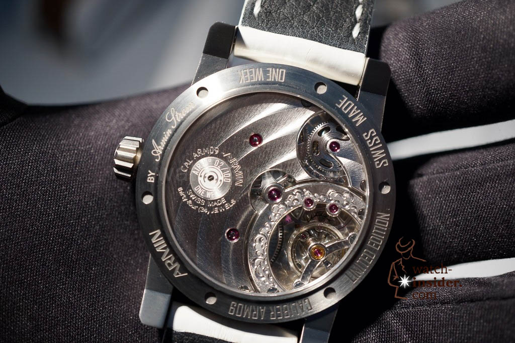 www.watch insider.com | reportages news  | Baselworld 2013 ... The Armin Strom novelties | DSC04398 1024x683