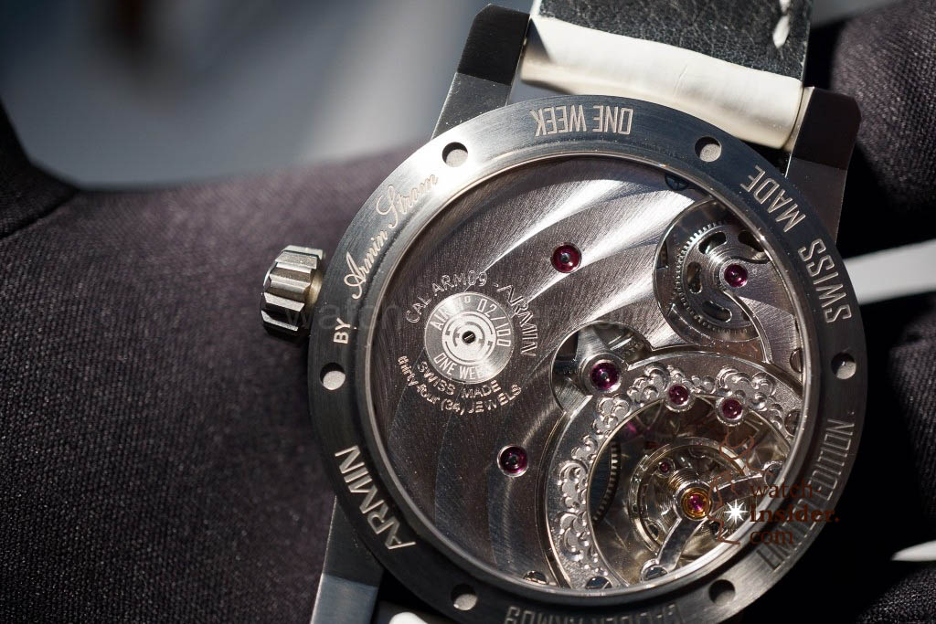 www.watch insider.com | reportages news  | Baselworld 2013 ... The Armin Strom novelties | DSC04399 1024x683