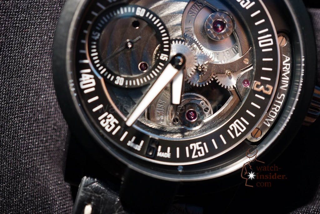 www.watch insider.com | reportages news  | Baselworld 2013 ... The Armin Strom novelties | DSC04401 1024x683