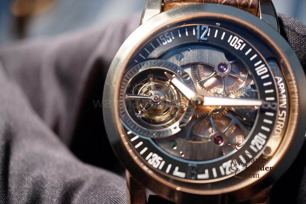 www.watch insider.com | reportages news  | Baselworld 2013 ... The Armin Strom novelties | DSC04409 1024x683