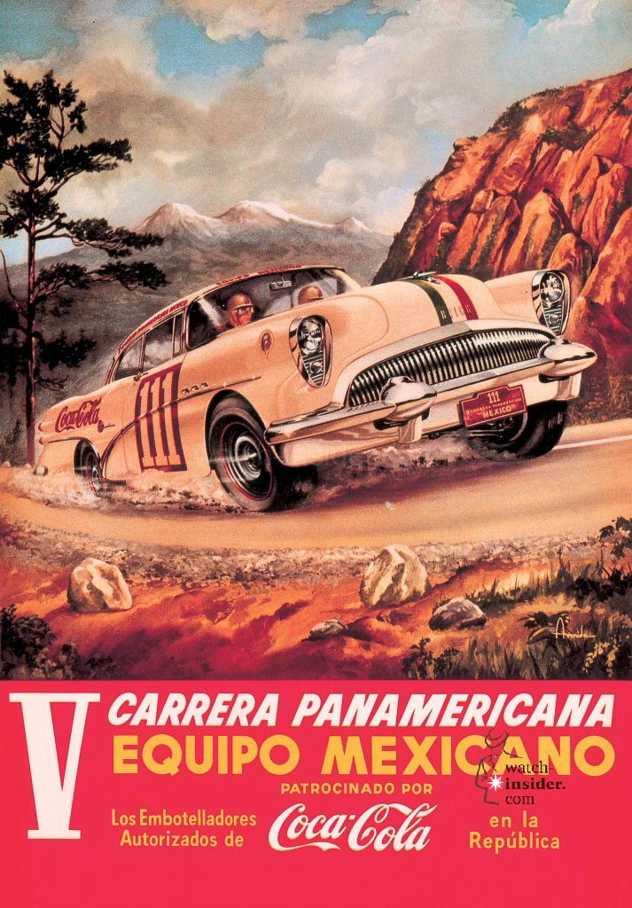 www.watch insider.com | reportages  | TAG Heuer – 50 years of Carrera | Carrera Panamericana Poster 713x1024