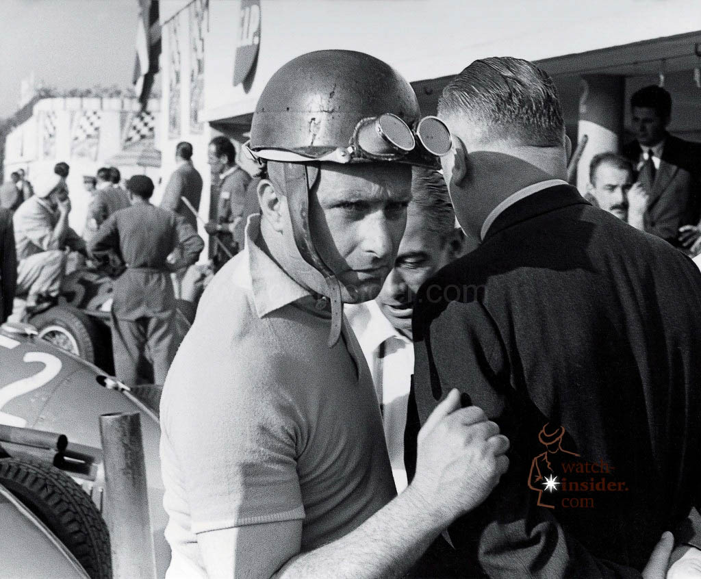 www.watch insider.com | reportages  | TAG Heuer – 50 years of Carrera | Juan Manuel Fangio 1024x846