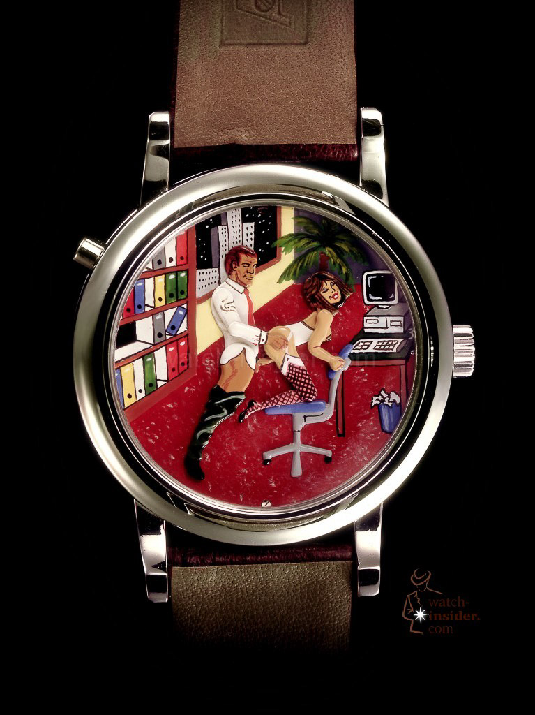 wrist watch fetish porno caroline andersen