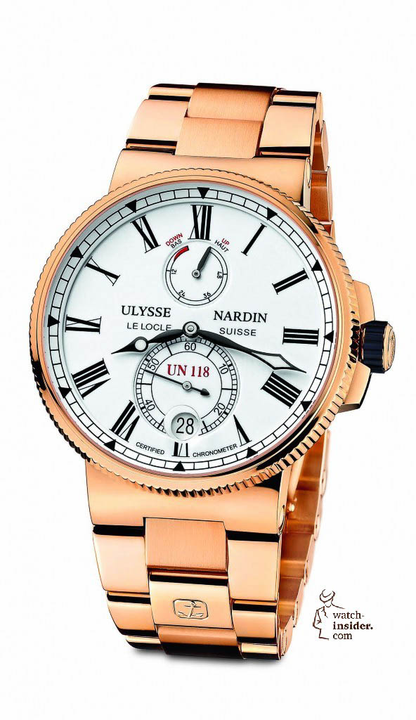 www.watch insider.com | reportages  | The Ulysse Nardin Marine Chronometer Manufacture | 1186 122 8M 40 592x1024