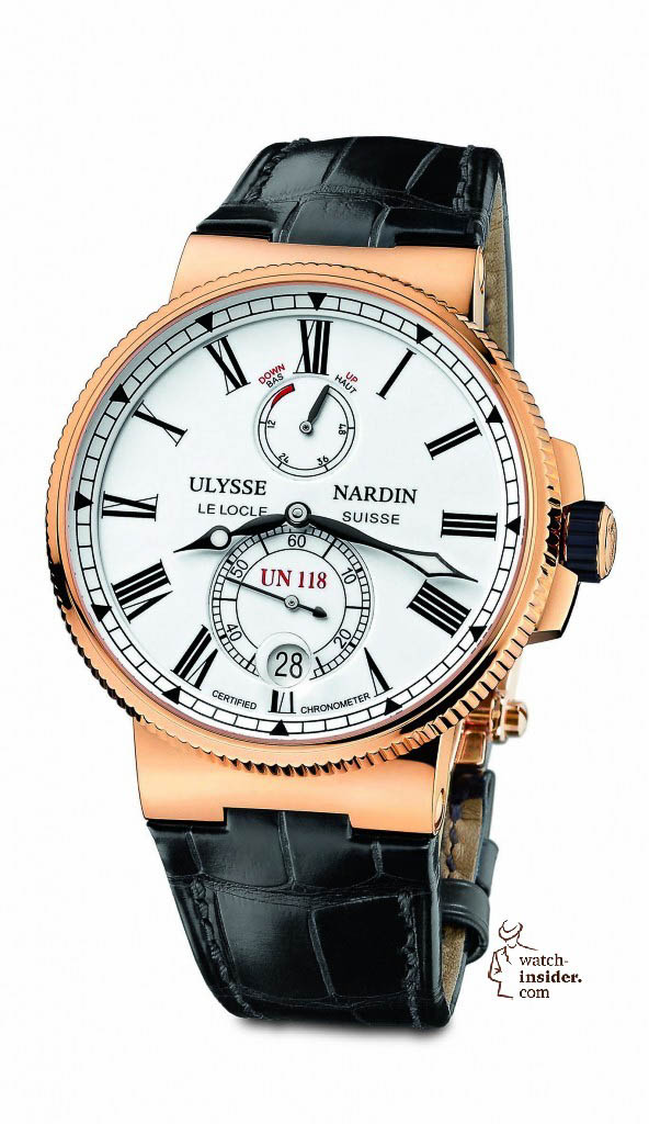 www.watch insider.com | reportages  | The Ulysse Nardin Marine Chronometer Manufacture | 1186 122 40 592x1024