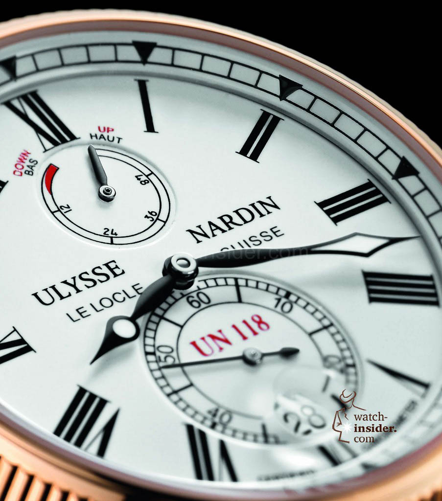 www.watch insider.com | reportages  | The Ulysse Nardin Marine Chronometer Manufacture | 1186 122 40 det 903x1024
