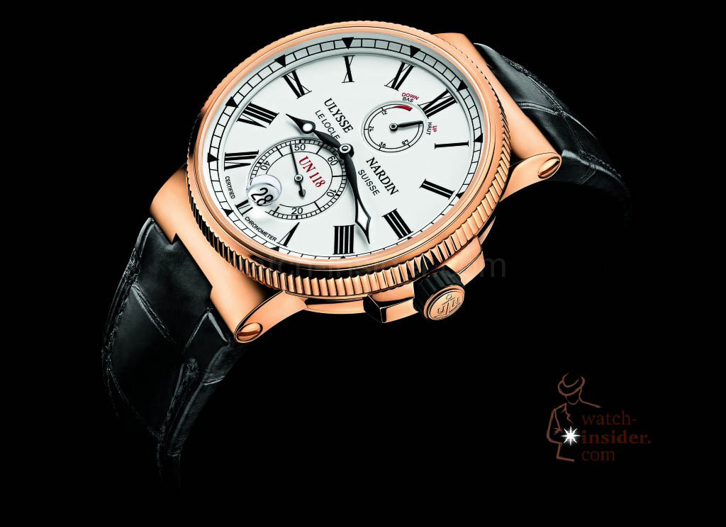 www.watch insider.com | reportages  | The Ulysse Nardin Marine Chronometer Manufacture | 1186 122 40 pub 1024x744