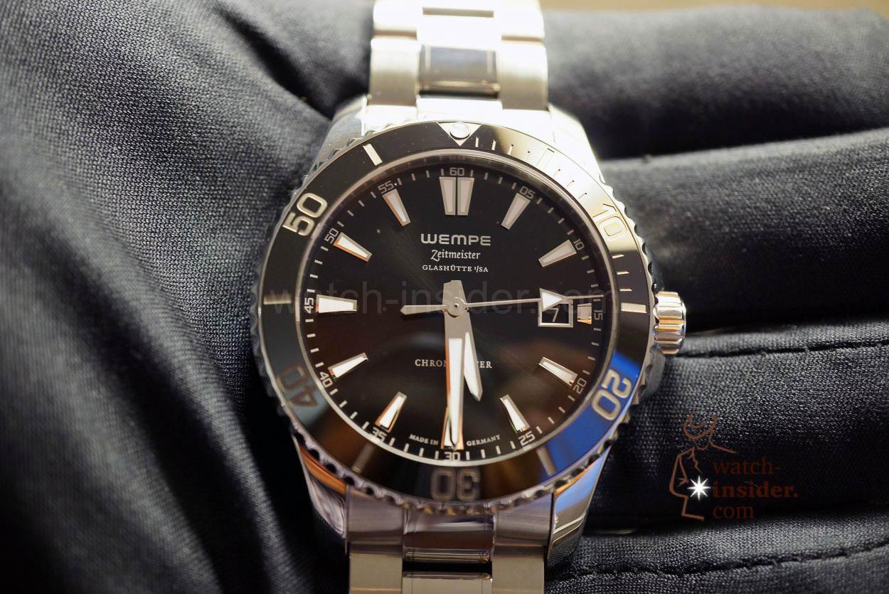 13 wempe zeitmeister men´s automatic diver´s watch watch insider com 13 wempe zeitmeister men´s automatic diver´s watch