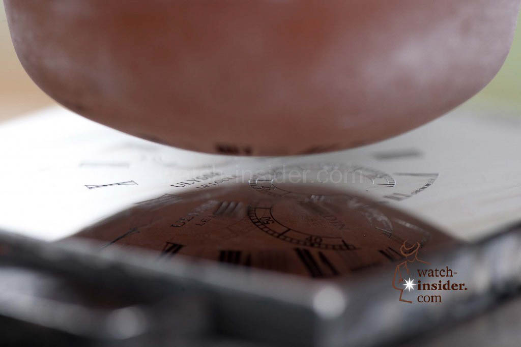 www.watch insider.com | reportages  | The Ulysse Nardin Marine Chronometer Manufacture | 14 DialTransferPlate1 1024x682
