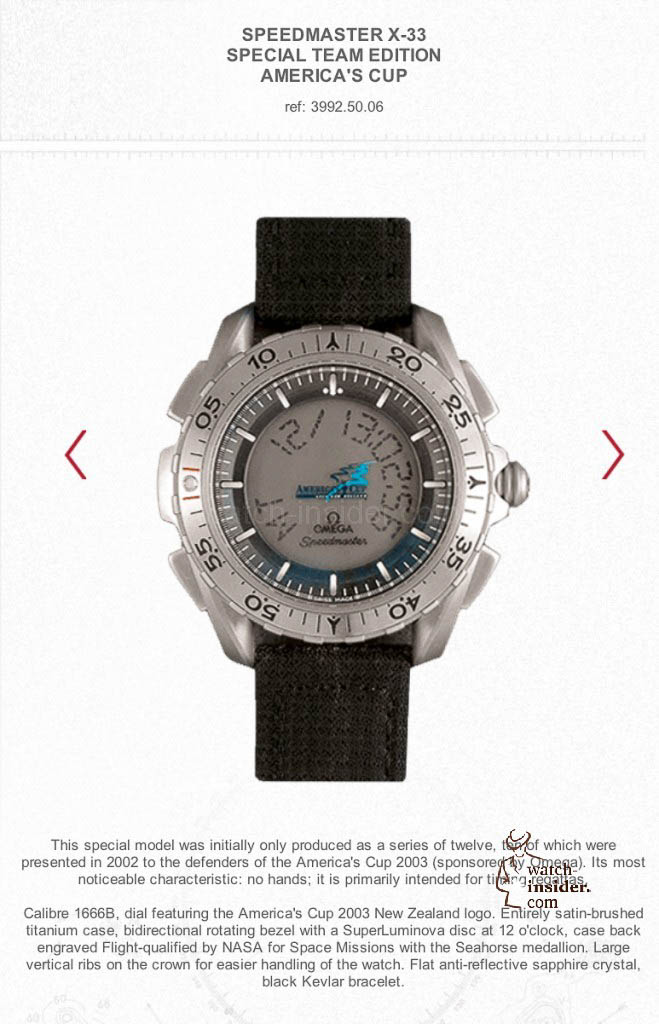 www.watch insider.com | reportages  | The Omega Regatta Watches since 2000 | 2003 2 659x1024