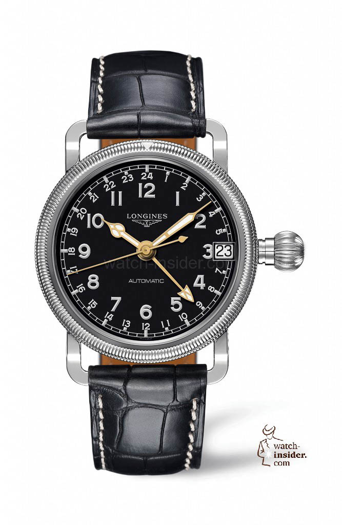 www.watch insider.com | reportages news  | The Longines Avigation Oversize Crown | L2.778.4.53 667x1024