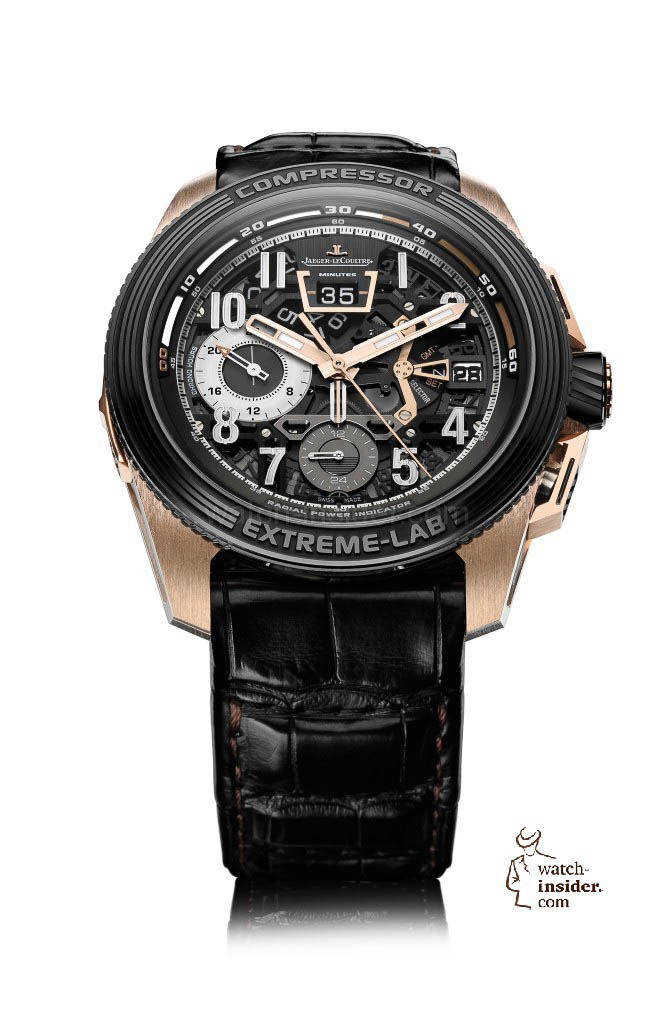 www.watch insider.com | videos reportages news  | Jaeger LeCoultre will probably launch a new version of its Master Compressor Extreme LAB 2 this autumn | Master Compressor Extreme LAB2 PG FB 672x1024