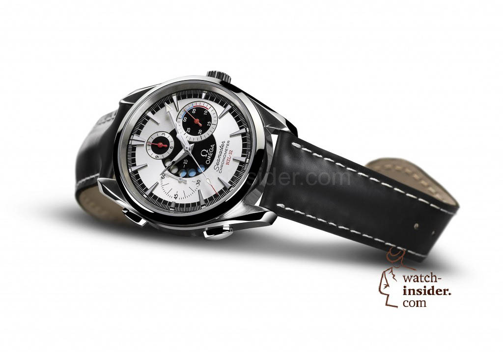 www.watch insider.com | reportages  | The Omega Regatta Watches since 2000 | Omega Seamaster NZL 32 Chrono pr frei red 1024x717