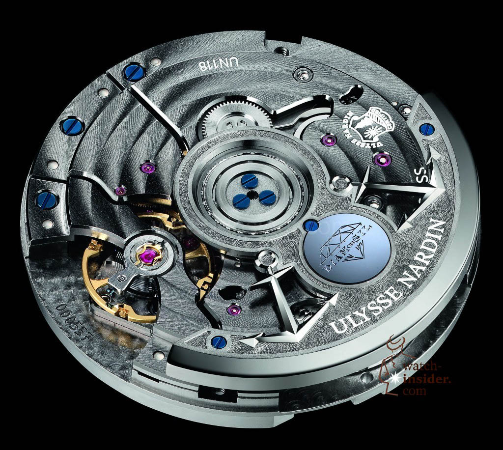 www.watch insider.com | reportages  | The Ulysse Nardin Marine Chronometer Manufacture | UN 118 Back side 1024x916
