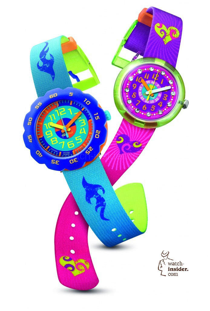 www.watch insider.com | news  | Parents, watch aficionados watch out! These Flik Flak watches are the best starter drugs for your kids | ZFPNP002 ZFPSP005 PR 694x1024