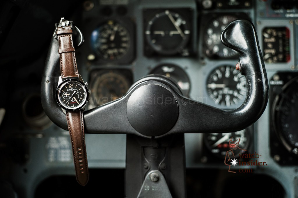 www.watch insider.com | reportages news  | Bell & Ross pays tribute to the 50th anniversary of Dassault's famous Mystère Falcon 20 | Bell Ross Vintage Falcon 1 1024x681