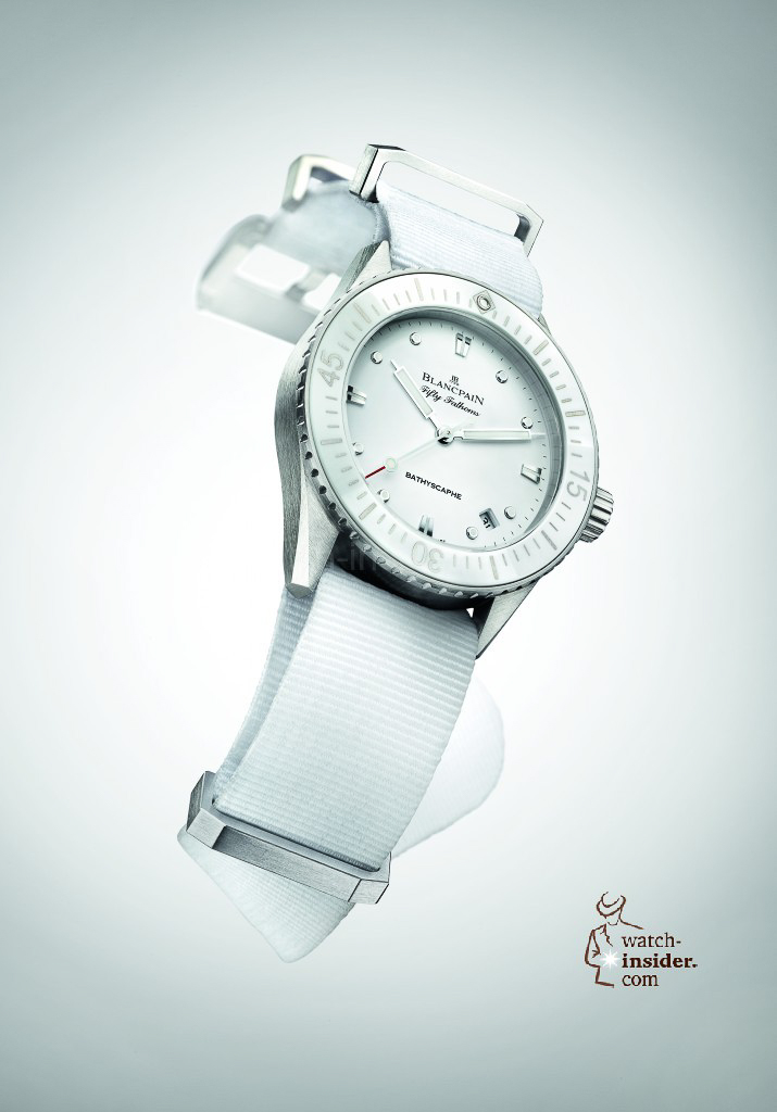 www.watch insider.com | reportages  | It's ladies' time. My personal top 15 ladies watches 2013 | Blancpain Fifty Fathoms Bathyscaphe 715x1024
