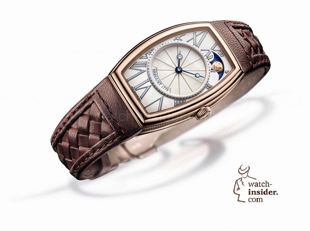www.watch insider.com | reportages  | It's ladies' time. My personal top 15 ladies watches 2013 | Breguet Heritage Phase de Lune Ladies 1024x763