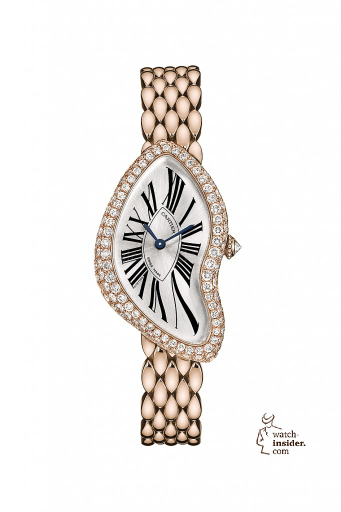 www.watch insider.com | reportages  | It's ladies' time. My personal top 15 ladies watches 2013 | Cartier Crash 682x1024
